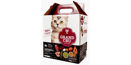 CaniSource chat/chaton viande rouge 3kg