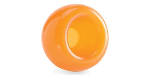 Planet Dog Snoop chien orbee balle crevasse orange
